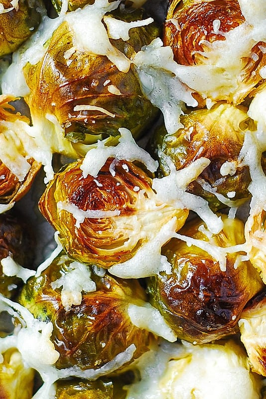 brussels sprouts with Asiago cheese, gluten free recipes, how to cook brussels sprouts