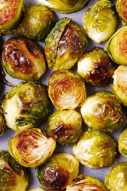 how to cook brussels sprouts, how to roast brussels sprouts, easy side dishes