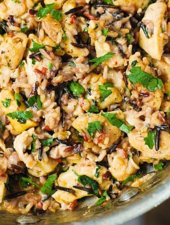 Creamy Chicken and Wild Rice Recipe
