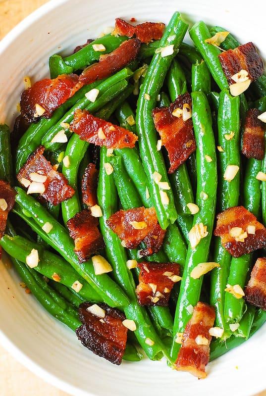 Garlic And Bacon Green Beans Julia S Album