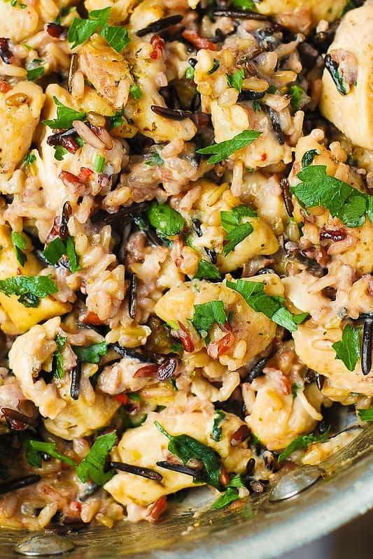 Creamy Chicken & Wild Rice Recipe