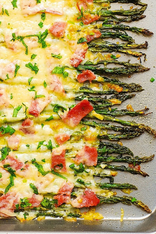 vegetable side dish, gluten free recipes, asparagus recipes, asparagus gratin