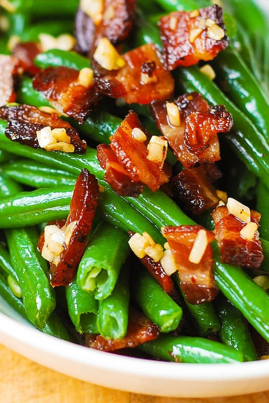 Garlic And Bacon Green Beans Julia S Album