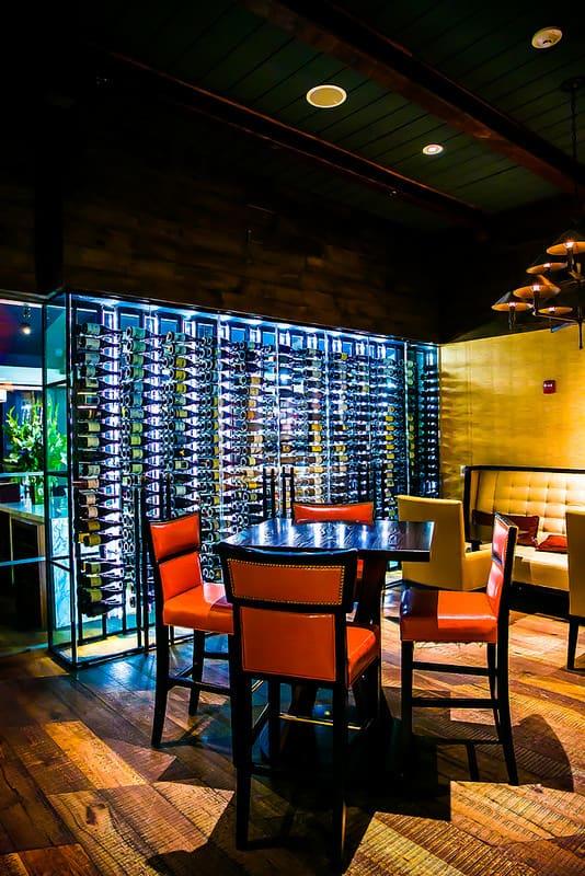 38º North at the Fairmont Sonoma Mission Inn restaurant and bar