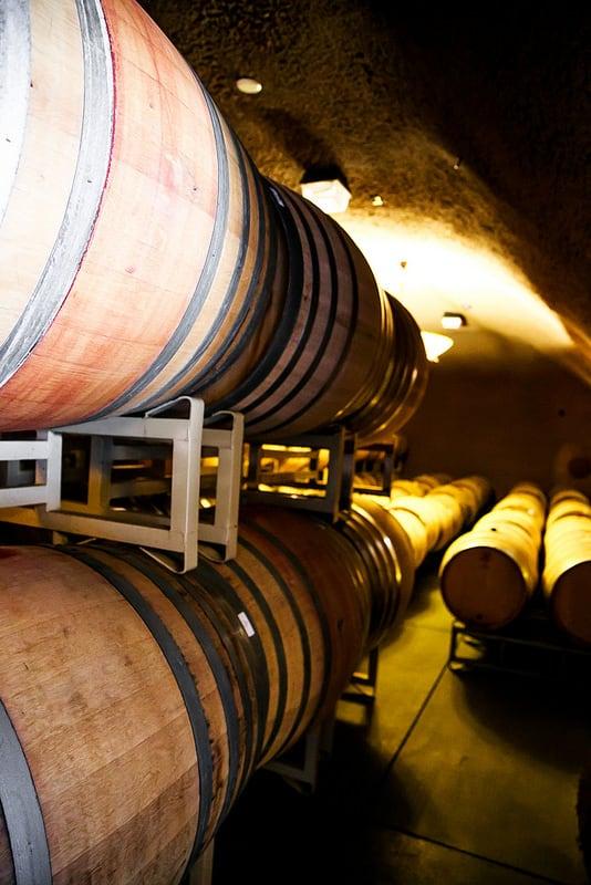 Sonoma Wine Tasting Tour, tasting room cave
