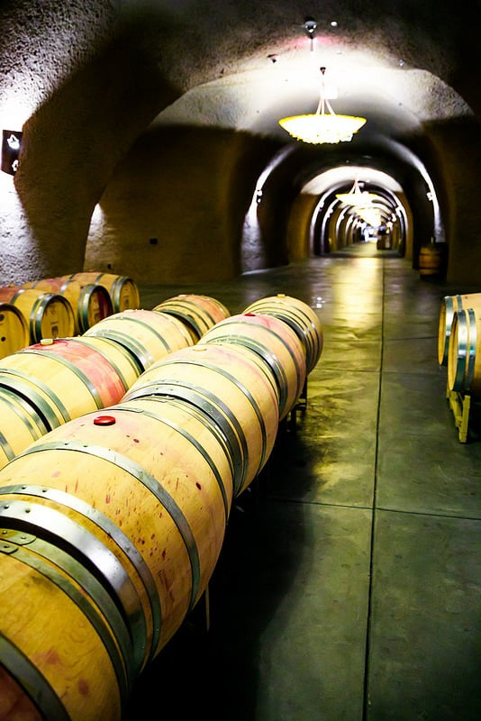 Sonoma Wine Tasting Tour, Petroni wine caves