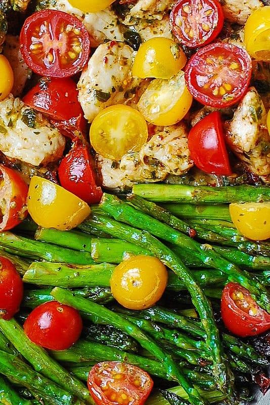 healthy dinner, Mediterranean chicken dinner, chicken recipes, cook healthy, healthy spring recipes