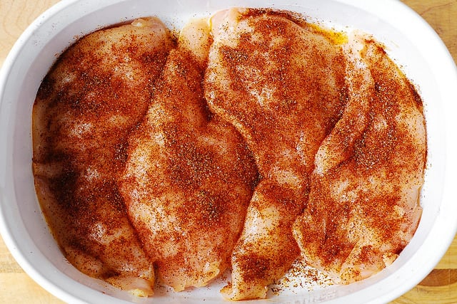 seasoned chicken breasts, baked chicken breasts, how to bake chicken breasts, easy chicken breast recipes
