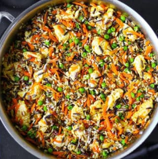 creamy chicken pot pie wild rice