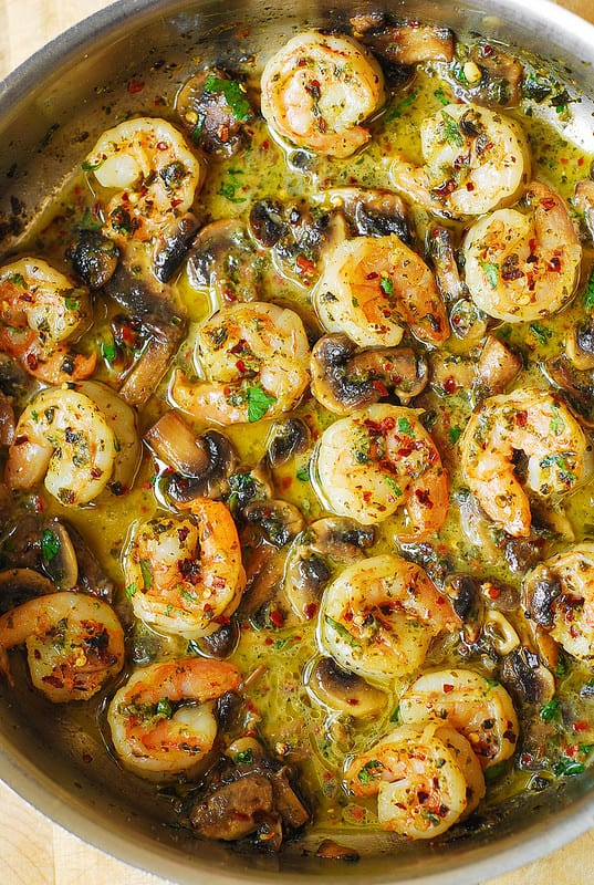 best seafood recipes, how to cook shrimp, easy shrimp dinner, easy shrimp sauté, gluten free shrimp recipes, easy dinner ideas