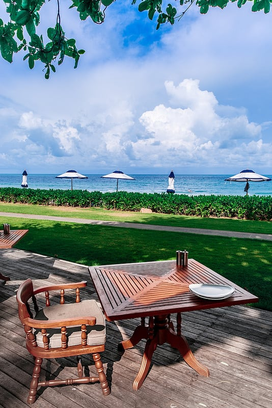 beachfront restaurants in Thailand, best beachfront dining in Thailand, dinner on the beach, lunch on the Beach, the luxury collection hotels, starwood, best Italian restaurant in Koh Samui
