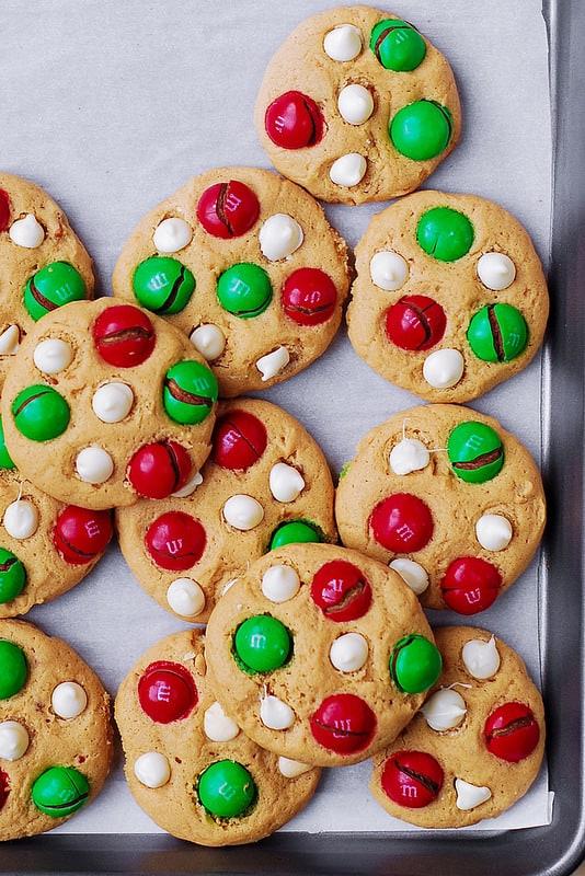 Santa's Peanut Butter Cookies
