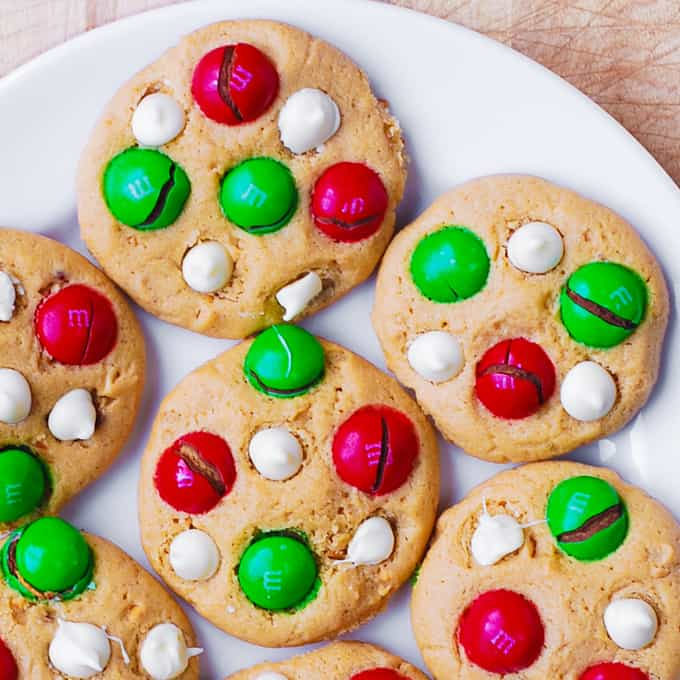 Santa S Peanut Butter Cookies