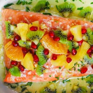 healthy salmon recipes, salmon with salsa, best salmon recipes