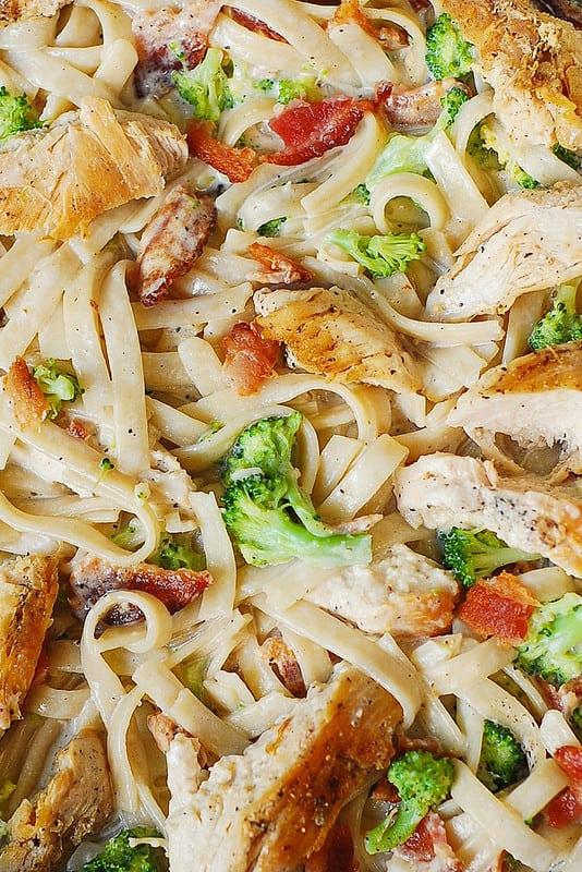 Fettuccine Alfredo Pasta, chicken pasta recipes
