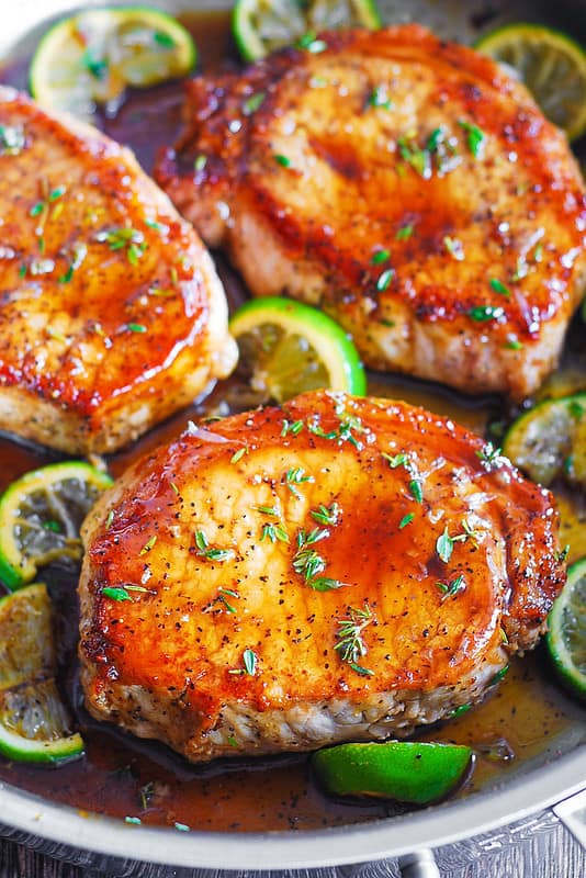 pan seared pork chops, best pork chop recipe