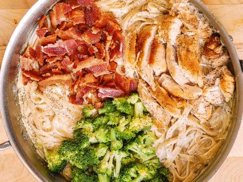 Chicken Broccoli Pasta With Bacon Julia S Album