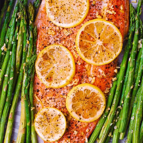 Baked Rainbow Trout with Lemon, Pepper, and Garlic-10