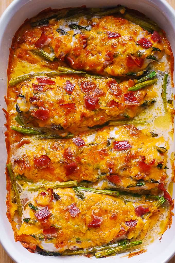 Asparagus Recipes Baked Bacon Cheese