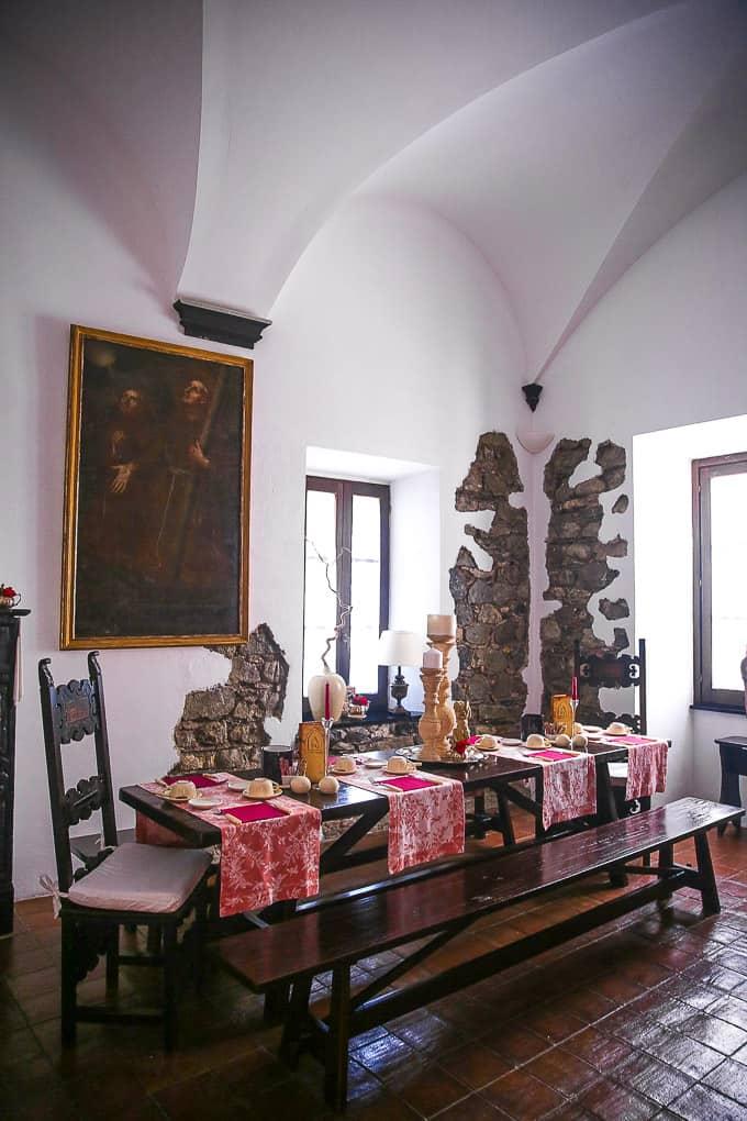 Breakfast at Abbadia San Giorgio, Moneglia
