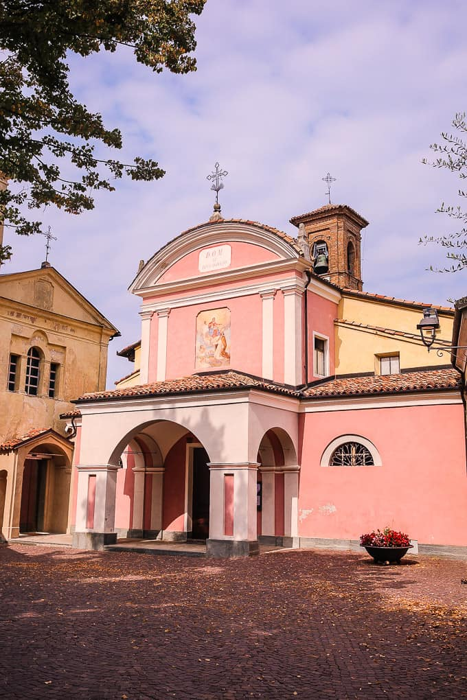 San Donato Church, Barolo, Piedmont