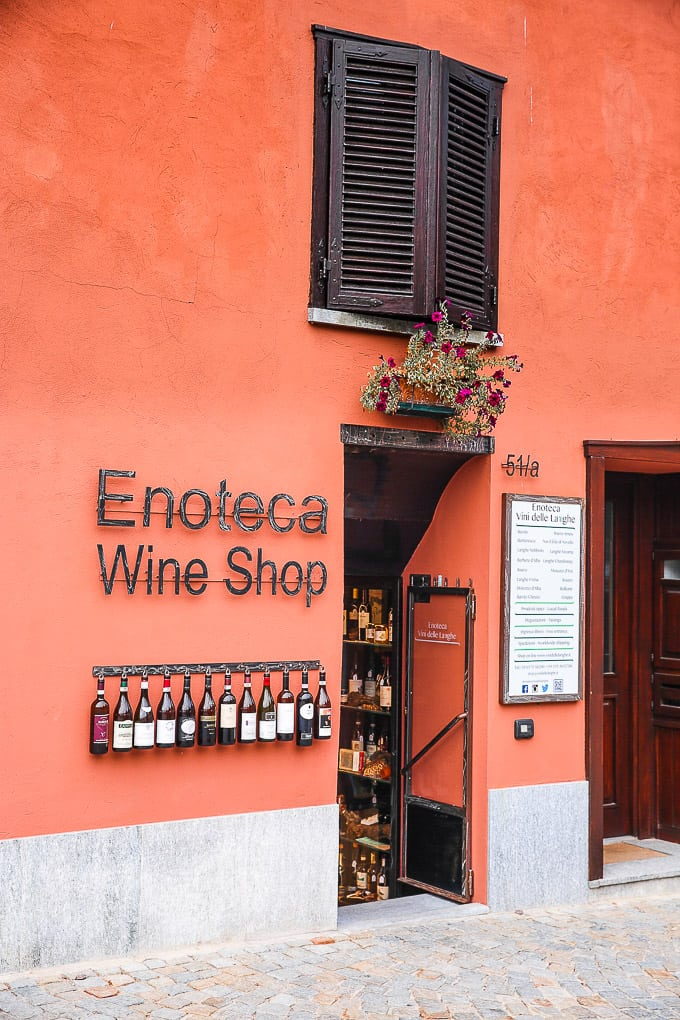 Restaurants in Barolo, Piedmont