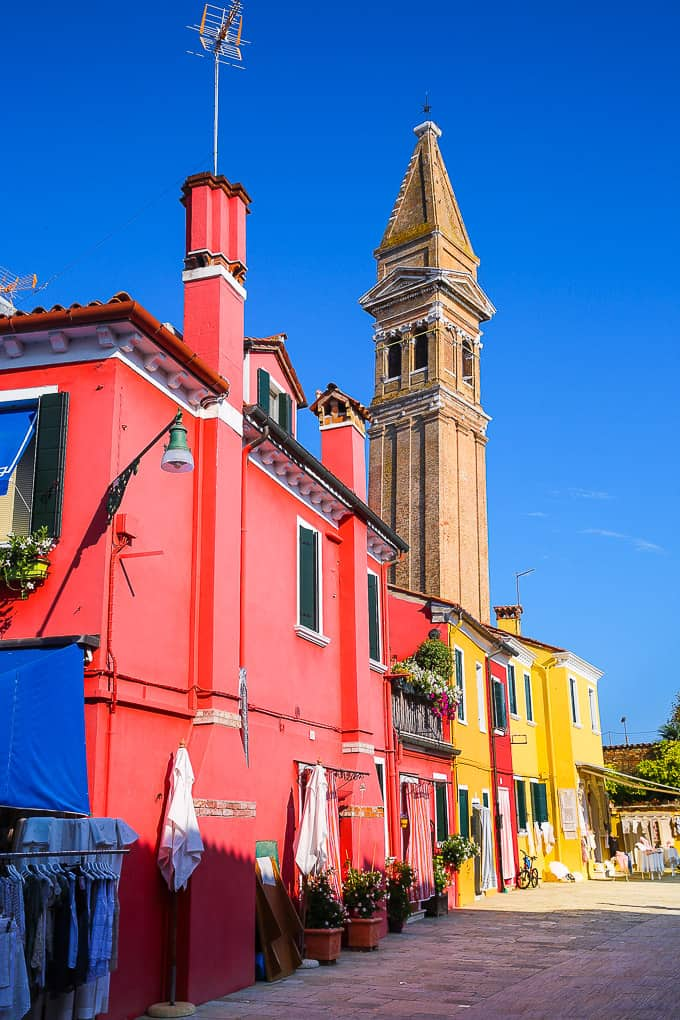 Burano's Leaning Tower