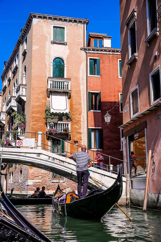 Gondola Rides in Venice, Italy
