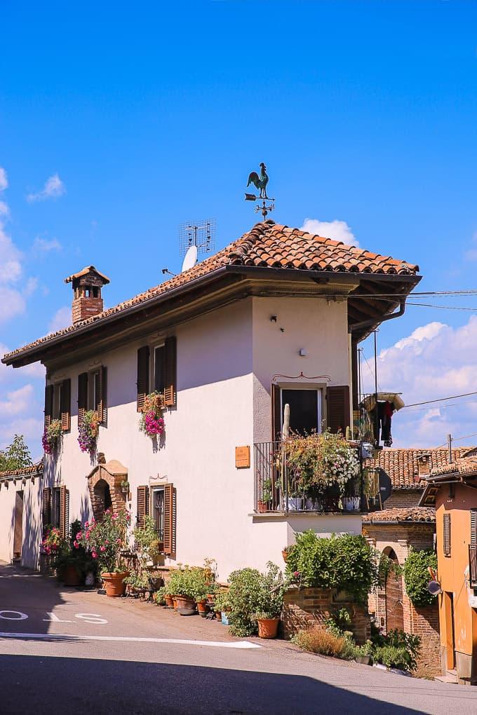 Neive in Piedmont Italy