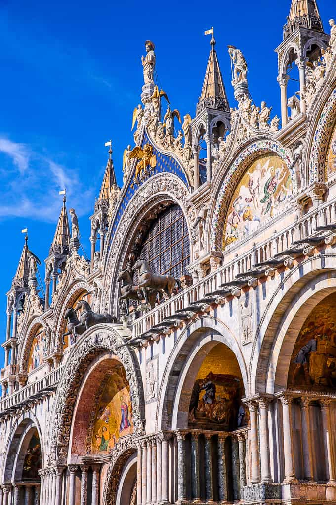 St. Mark's Basilica in Venice, Italy