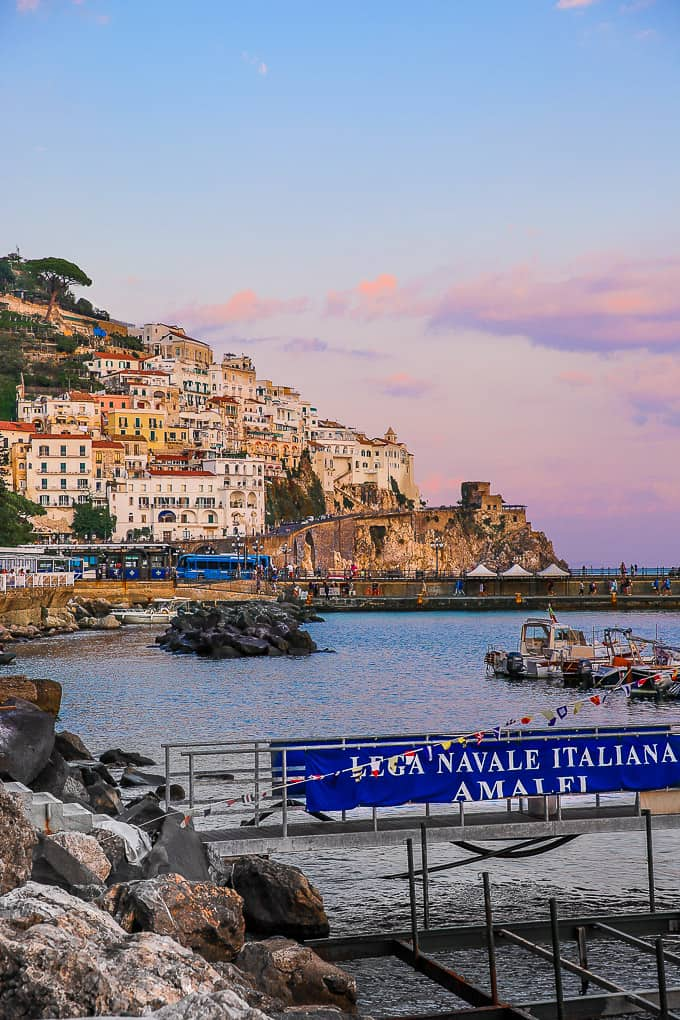 Amalfi Town on the Amalfi Coast