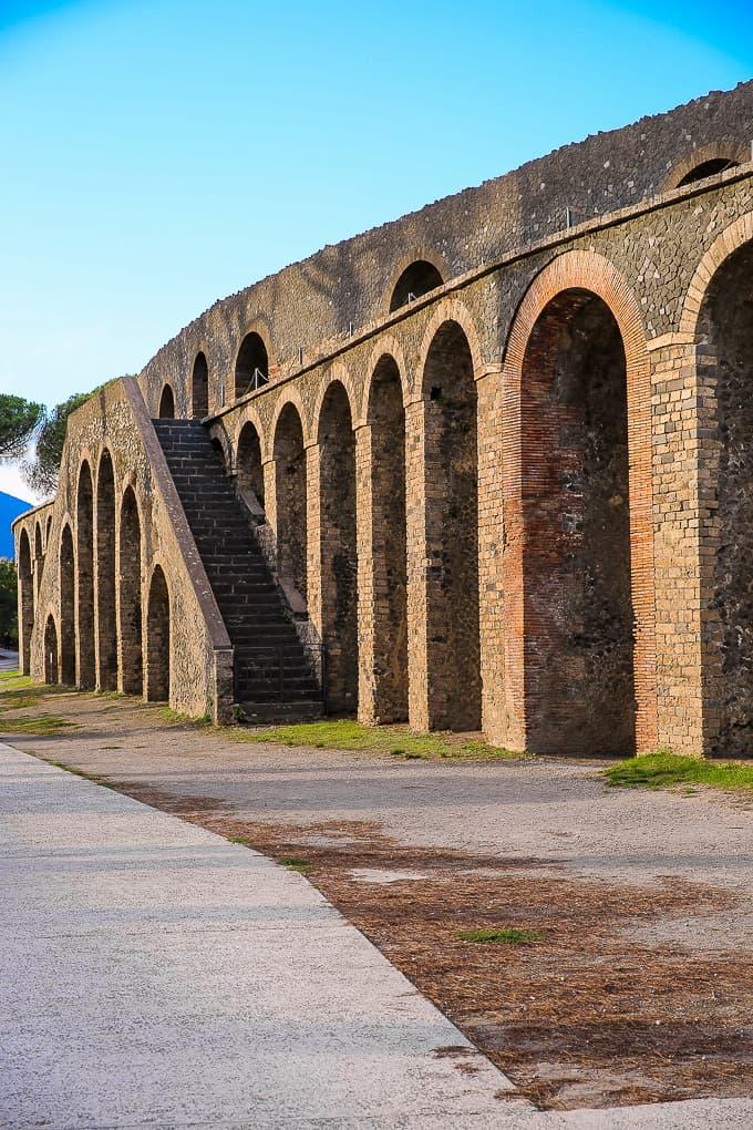 Amphitheater of Pompeii