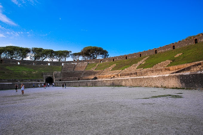 amphitheater of Pompeii