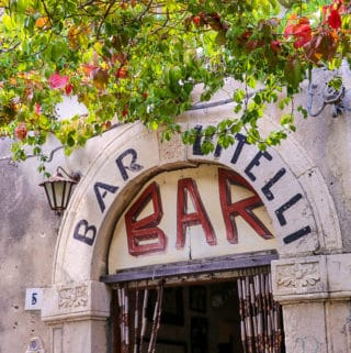 "Bar Vitelli from ""The Godfather"" movie"