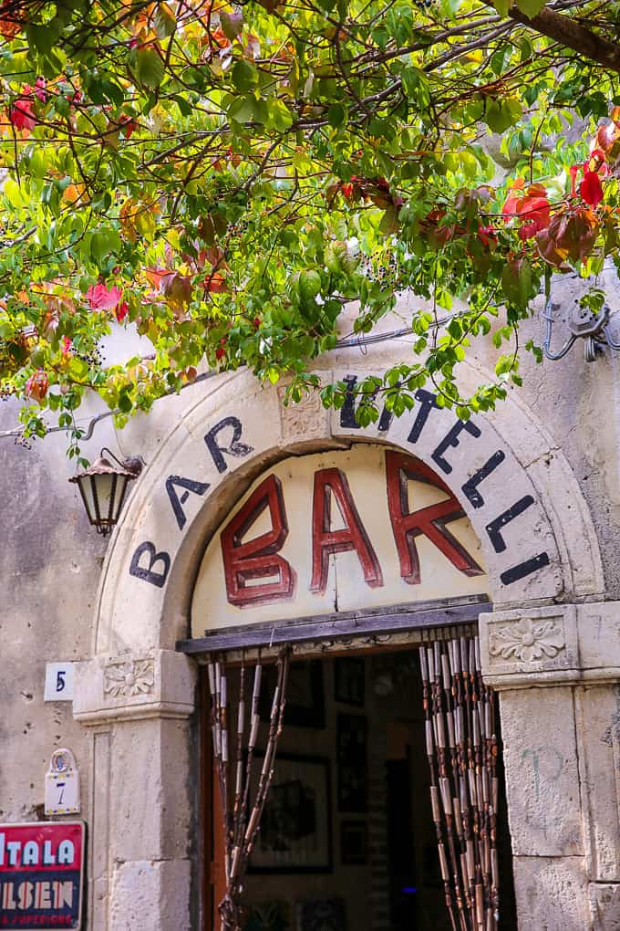 """Bar Vitelli from """"The Godfather"""" movie"""