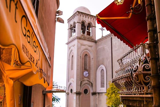 Campanile in Castelmola, Sicily