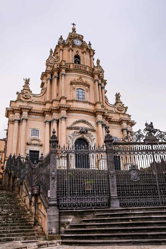 Cathedral of San Giorgio in Ragusa, Sicily, Italy