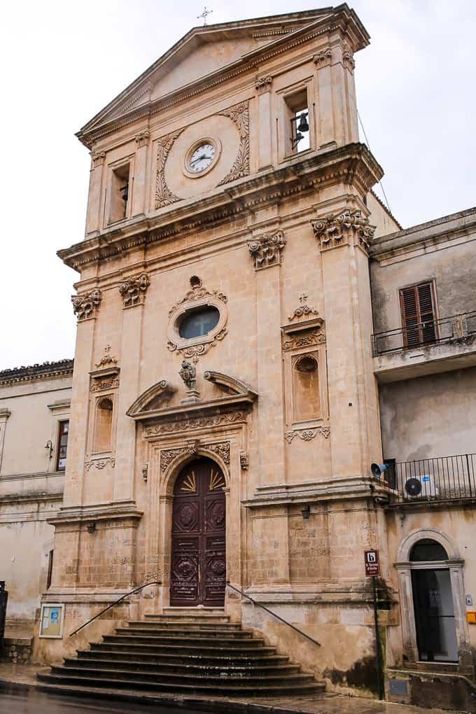 Chiesa di S. Teresa d'Avila in Modica, Sicily, Italy