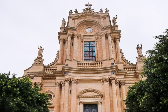 Chiesa di San Giovanni Evangelista in Modica, Sicily, Italy