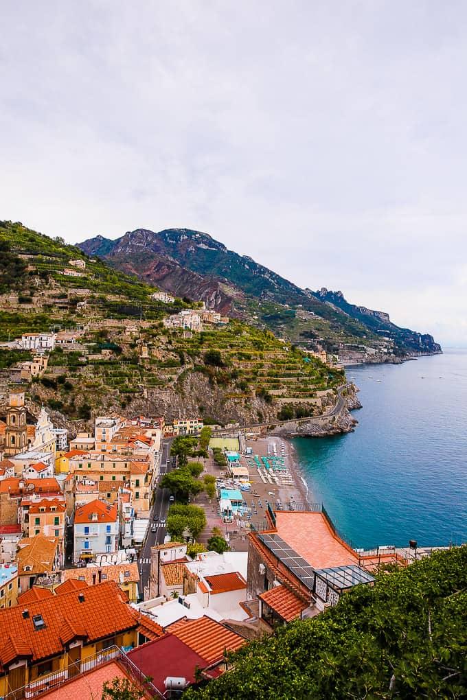Hike Ravello to Minori, Amalfi Coas