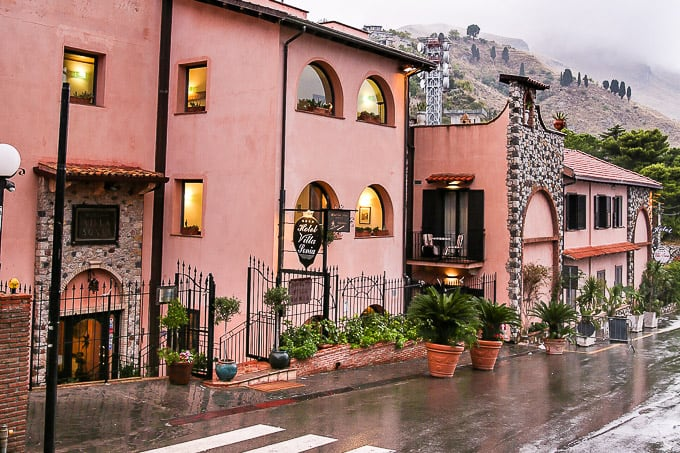Hotel Villa Sonia in Sicily