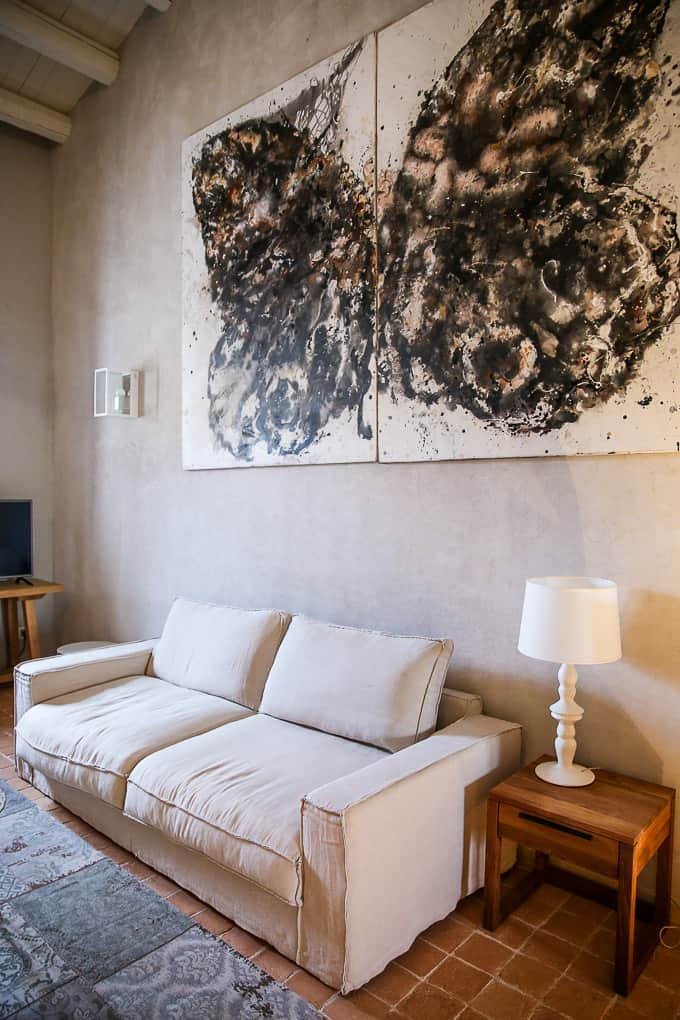 Masseria della Volpe room, Sicily, Italy