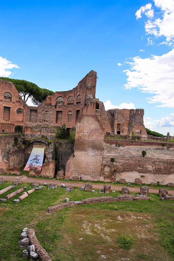 Palace of Domitian, Palatine Hill, Rome, Italy