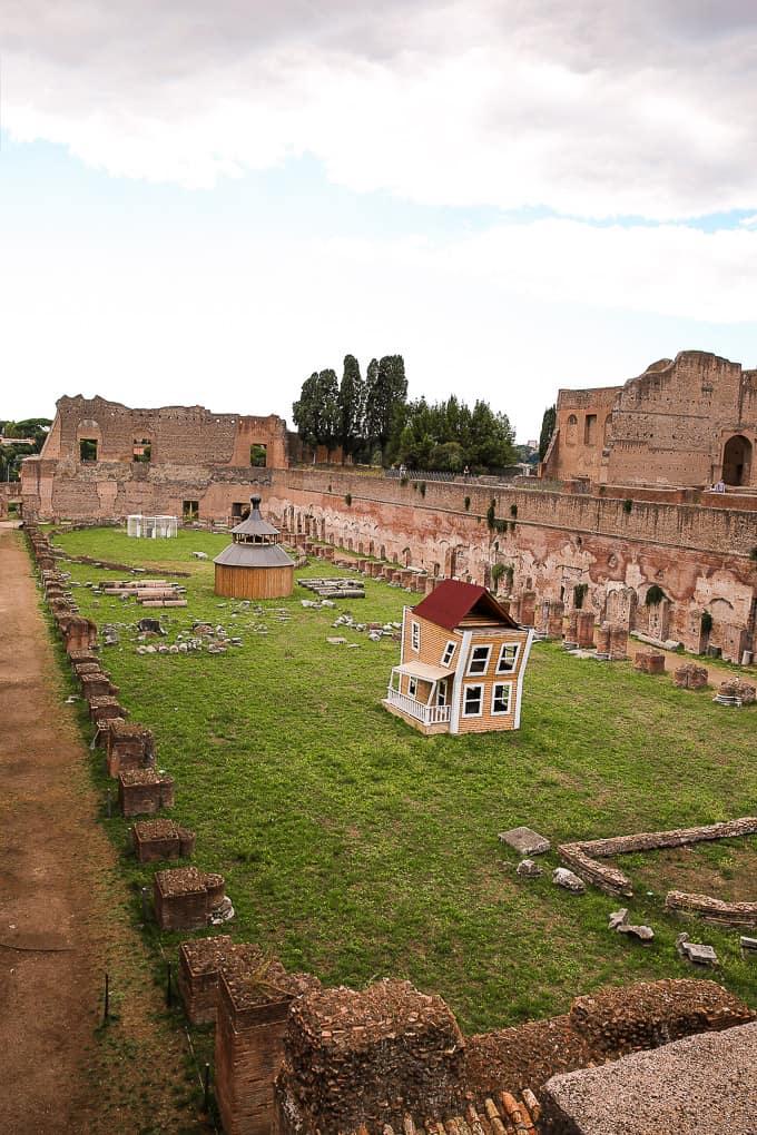 Palatine Stadium, Palatine Hill, Rome, Italy