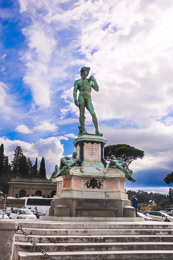Piazzale Michelangelo, Florence Italy