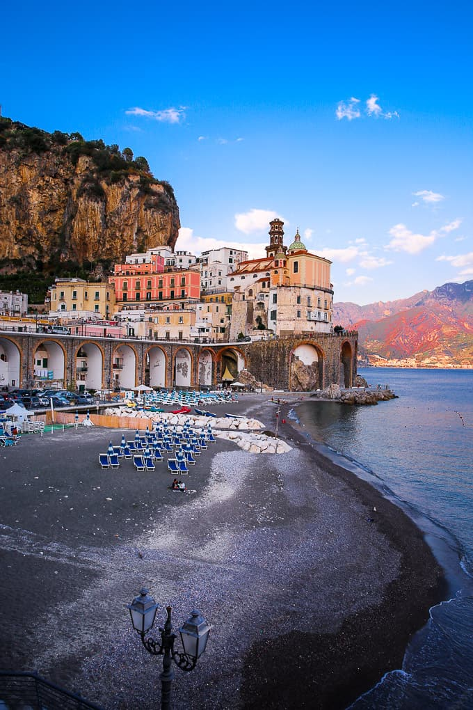 Atrani Town on The Amalfi Coast