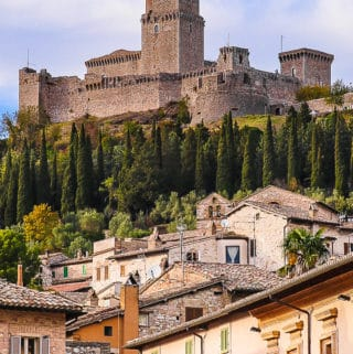 Things To Do in Assisi, Italy - Rocca Maggiore, Assisi, Italy