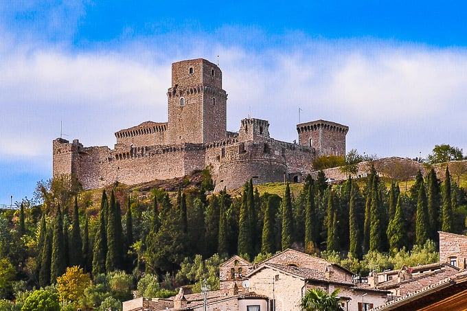 Things To Do in Assisi - Rocca Maggiore, Assisi, Italy