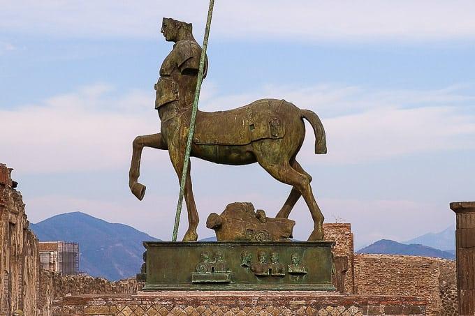 Statue of Centaur, Pompeii