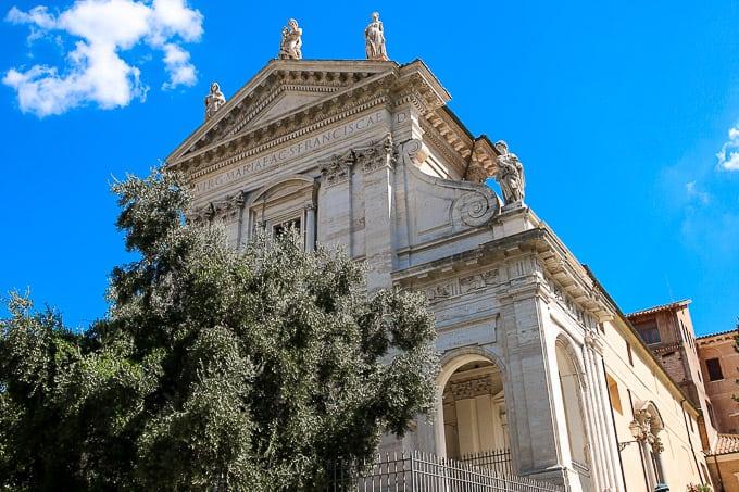 Santa Francesca Romana, Italy